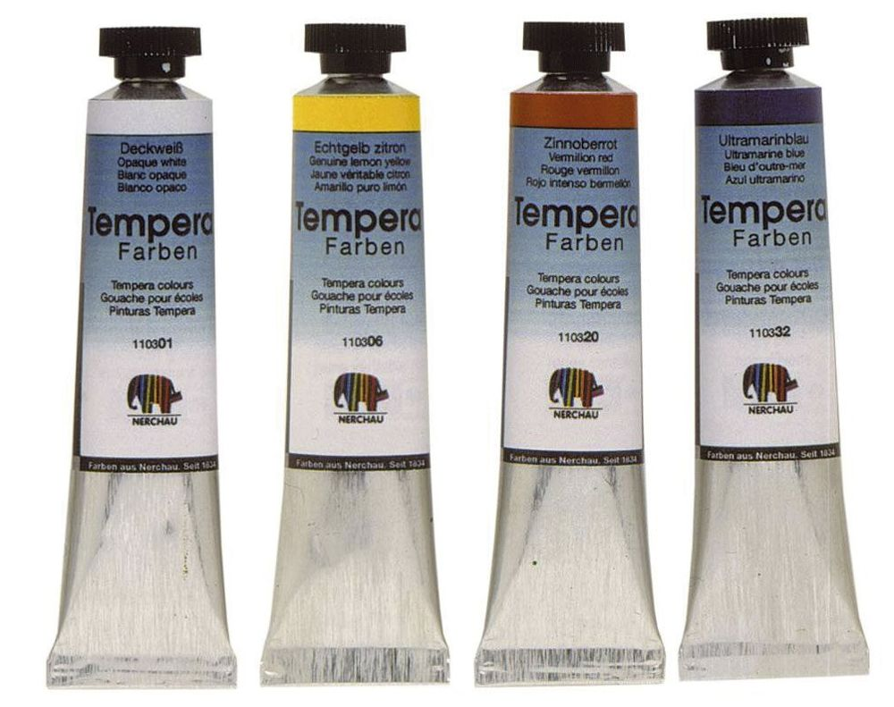 Nerchau Tempera (Gouache) 19 ml Tube