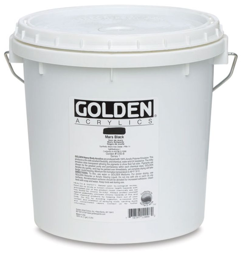 Golden Fluid Acrylfarbe 3,78l Eimer PG 2