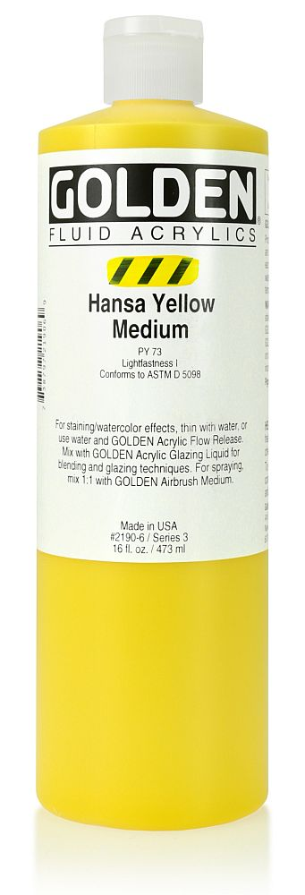 Golden Fluid Acrylfarbe 473ml Flasche PG 3