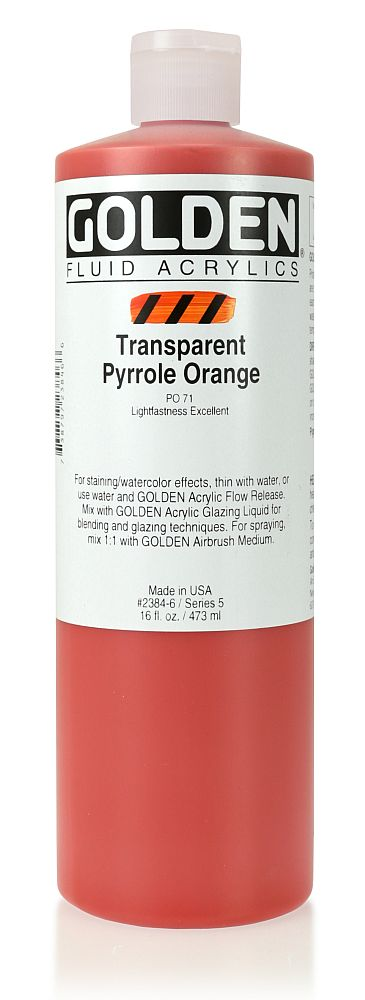 Golden Fluid Acrylfarbe 473ml Flasche PG 5