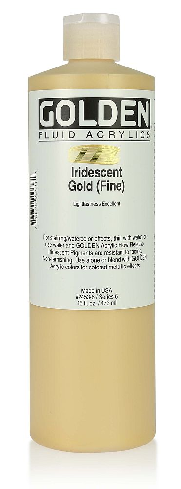 Golden Fluid Acrylfarbe 473ml Flasche PG 6