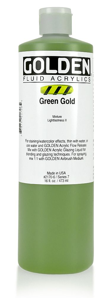 Golden Fluid Acrylfarbe 473ml Flasche PG 7