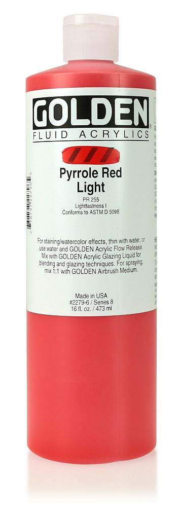 Golden Fluid Acrylfarbe 473ml Flasche PG 8