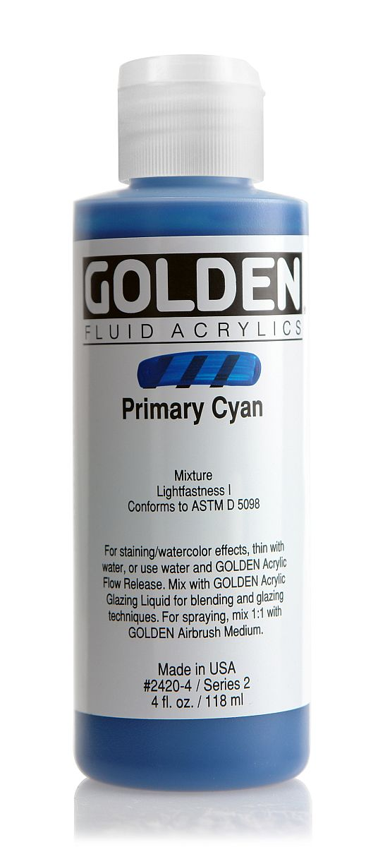 Golden Fluid Acrylfarbe 118ml Flasche PG 2
