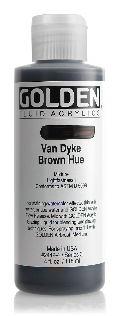 Golden Fluid Acrylfarbe 118ml Flasche PG 3