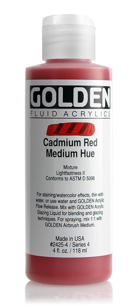 Golden Fluid Acrylfarbe 118ml Flasche PG 4
