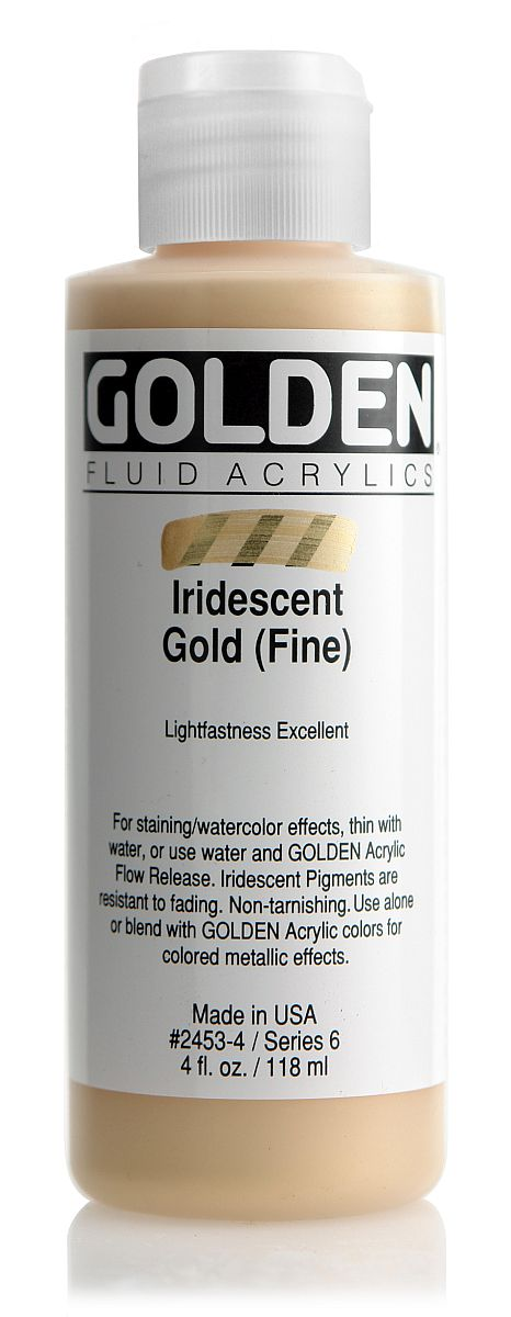 Golden Fluid Acrylfarbe 118ml Flasche PG 6