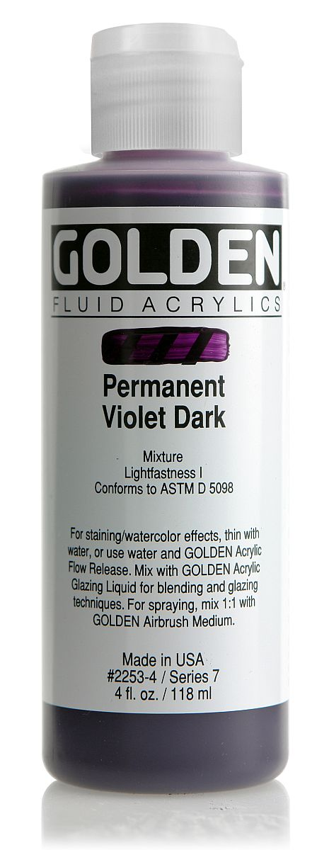 Golden Fluid Acrylfarbe 118ml Flasche PG 7