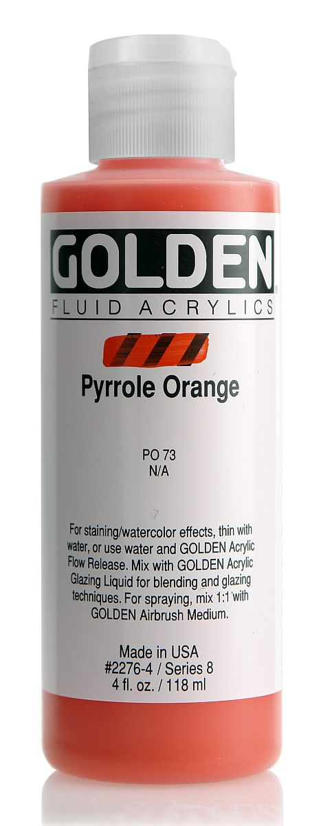 Golden Fluid Acrylfarbe 118ml Flasche PG 8