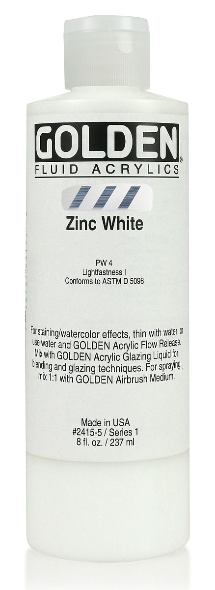 Golden Fluid Acrylfarbe 236ml Flasche PG 1