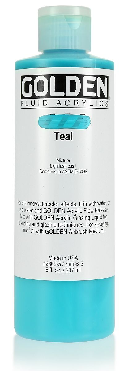 Golden Fluid Acrylfarbe 236ml Flasche PG 3