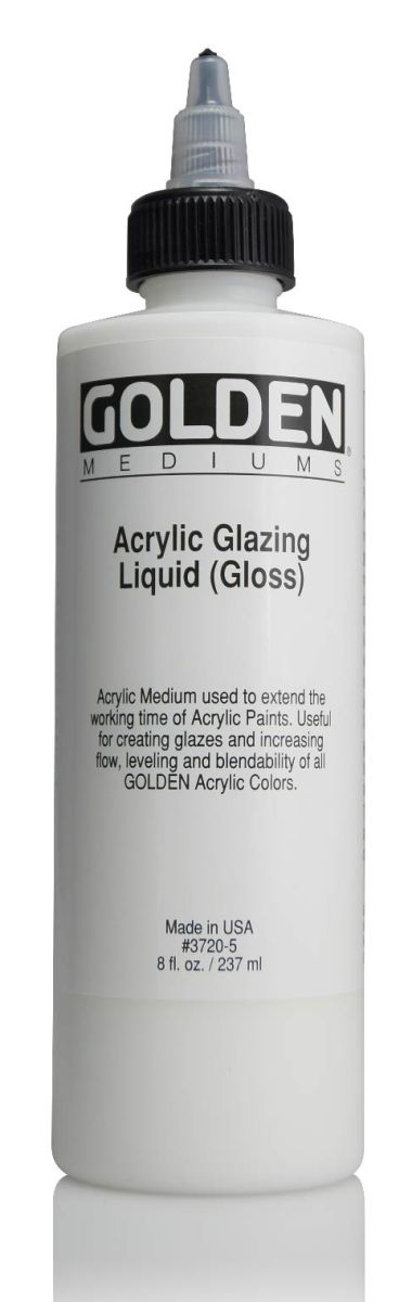 Golden Acrylic Glazing Liquid 236ml Flasche