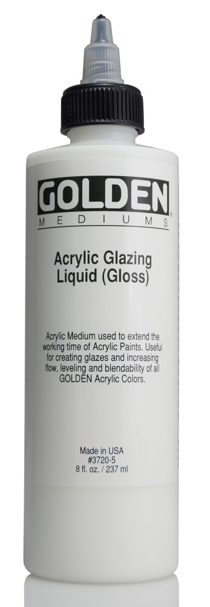Golden Acrylic Glazing Liquid 473ml Flasche