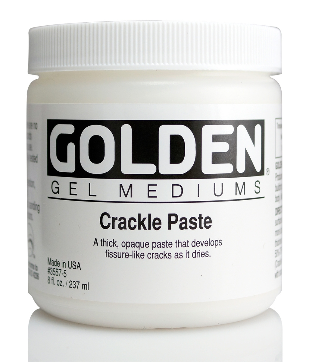 Golden Crackle Paste 237 ml Dose