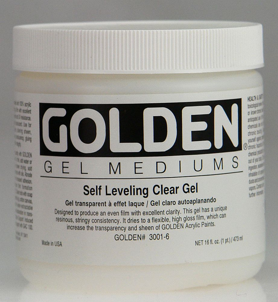 Golden Self Leveling Clear Gel 3,78l