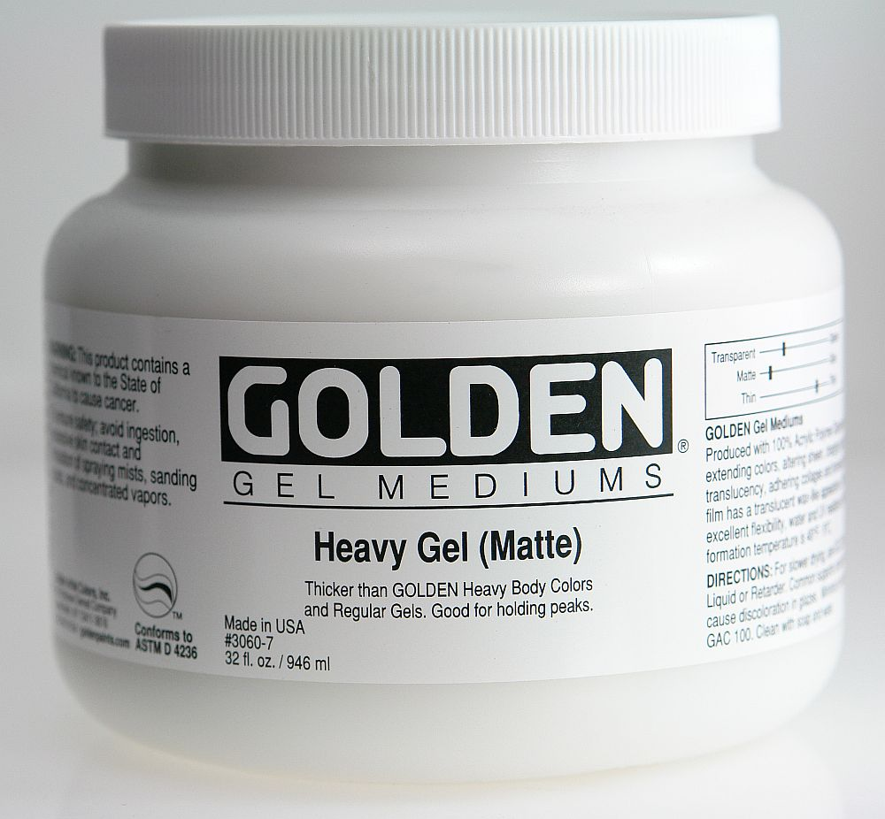Golden Heavy Gel 3,78l