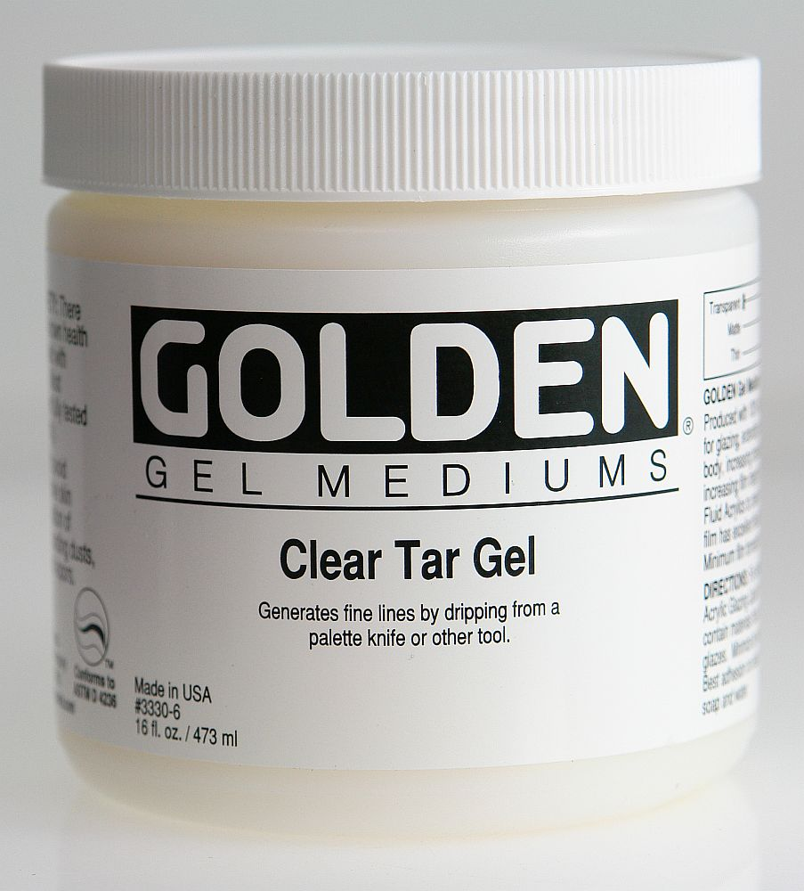 Golden Clear Tar Gel 473ml Dose