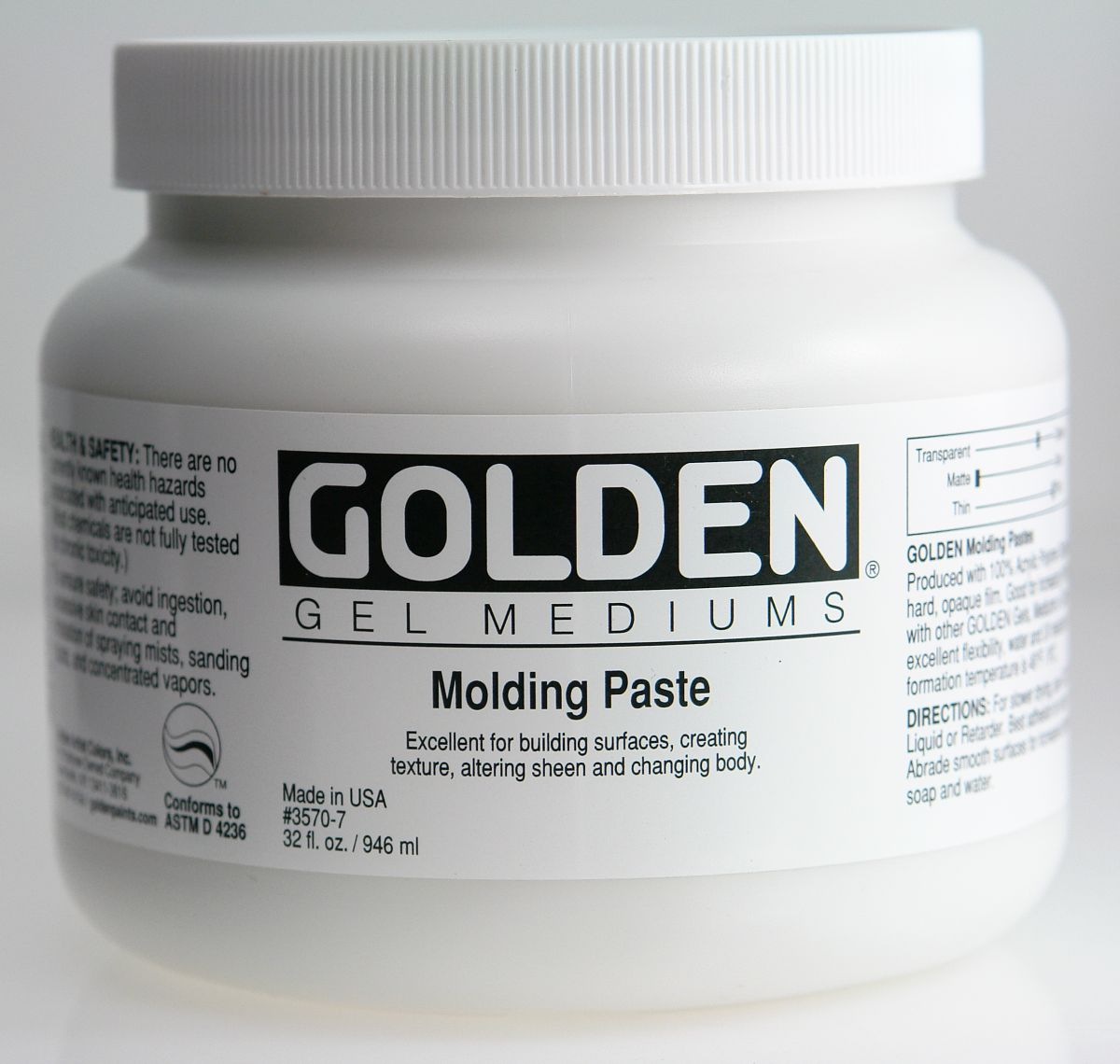 Golden Molding Paste 3,78l Eimer