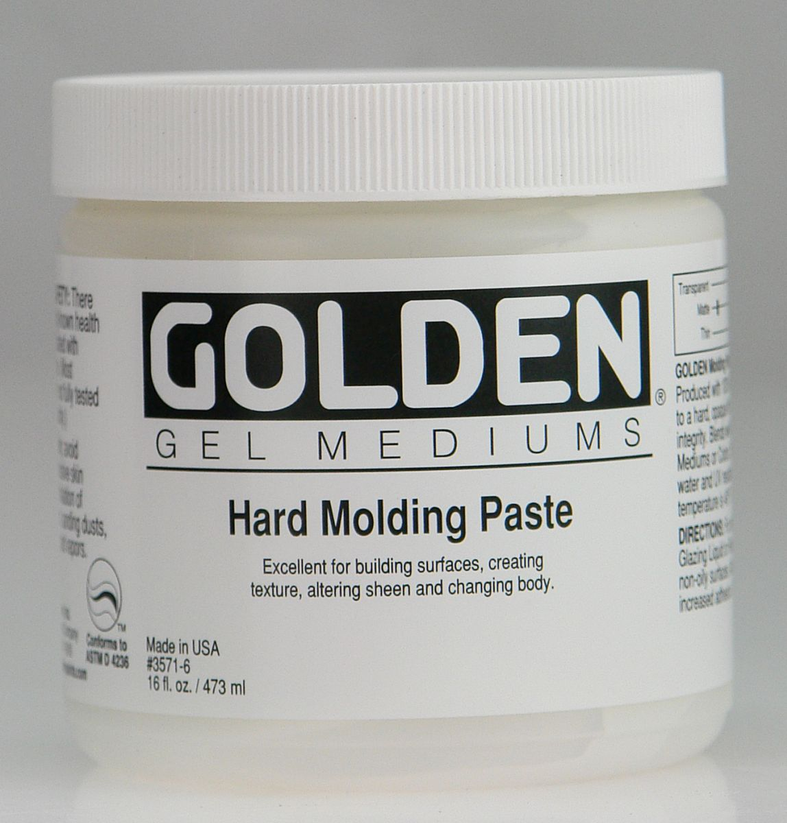 Golden Molding Paste Hard 473ml Dose