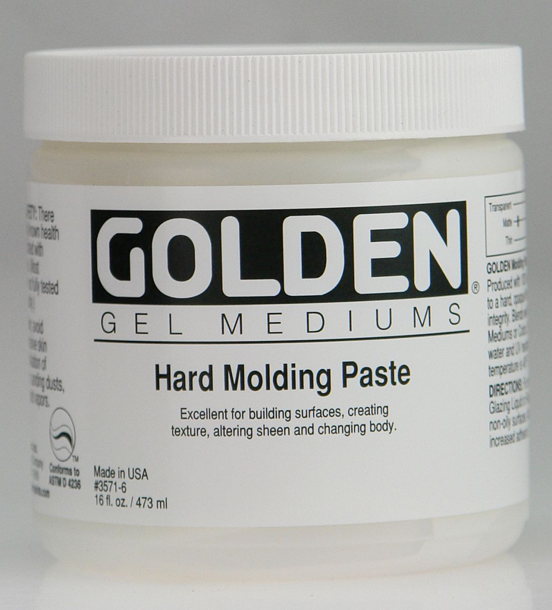 Golden Molding Paste Hard 946ml Dose