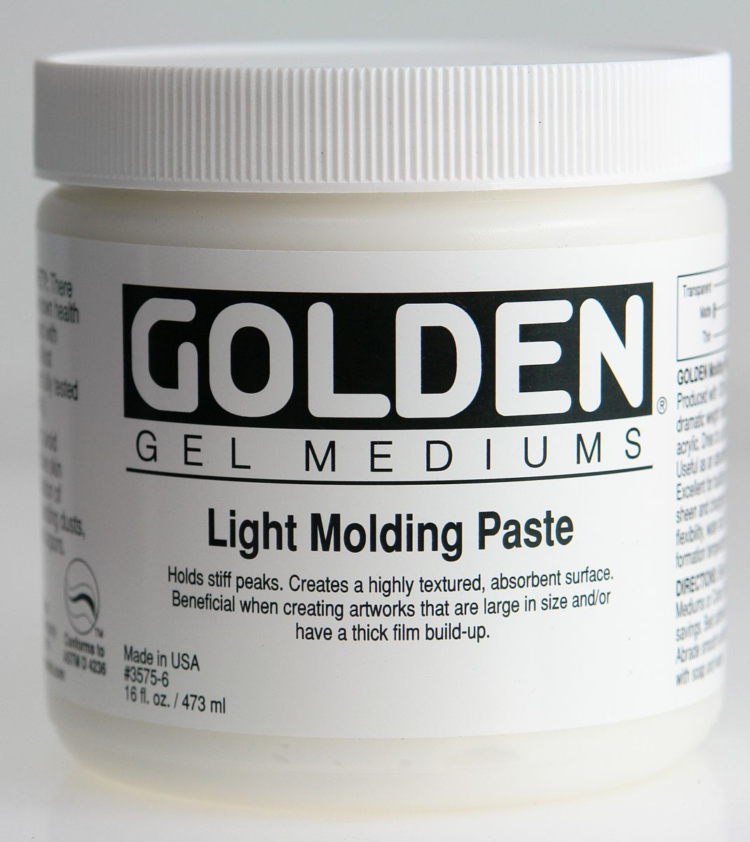 Golden Molding Paste Light 236ml Dose