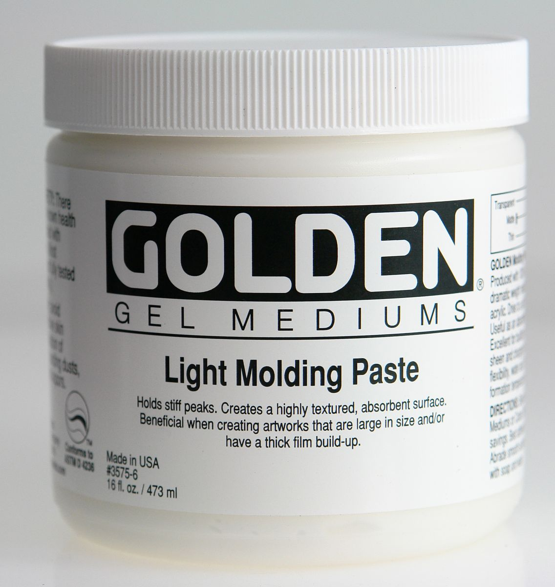 Golden Molding Paste Light 473ml Dose