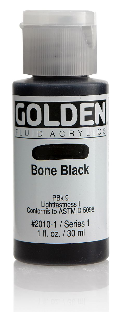 Golden Fluid Acrylfarbe 30ml Flasche PG 1