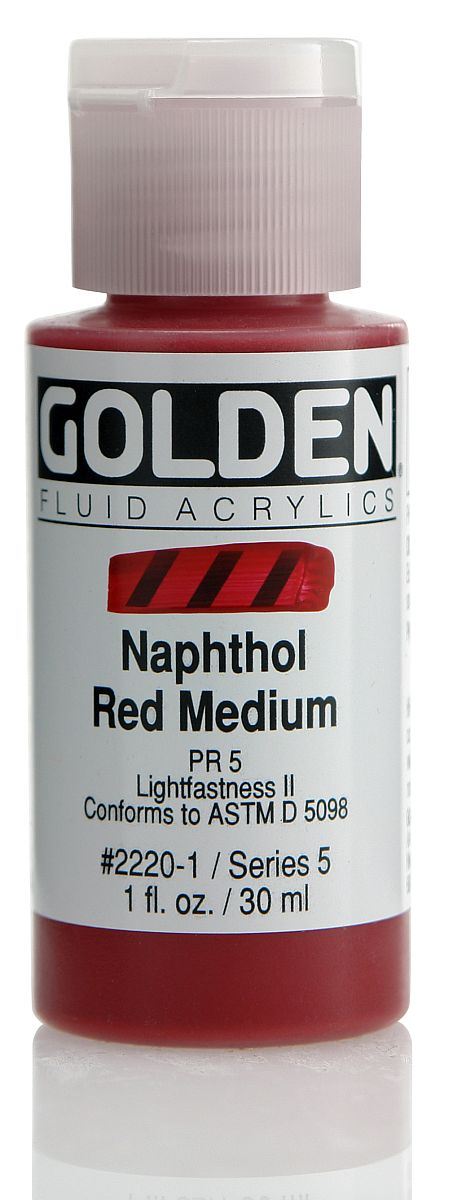 Golden Fluid Acrylfarbe 30ml Flasche PG 5