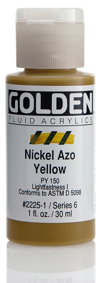 Golden Fluid Acrylfarbe 30ml Flasche PG 6