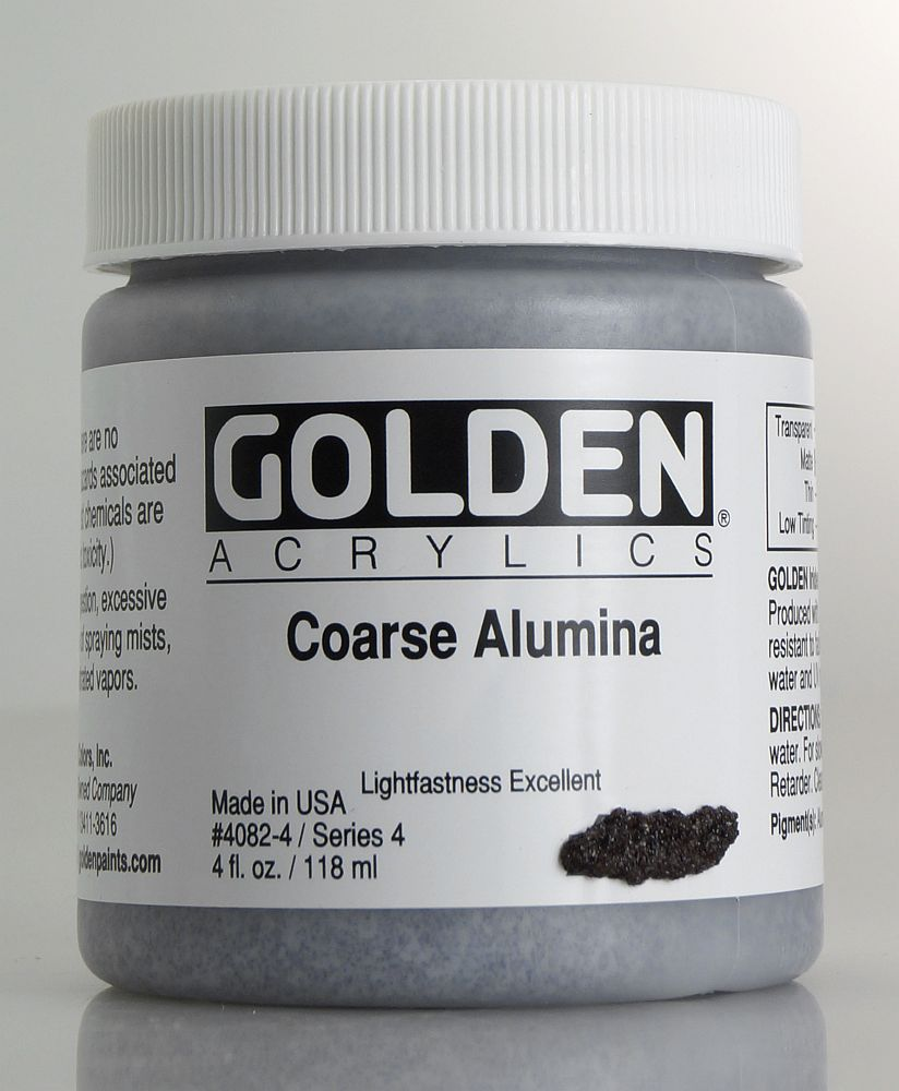 Golden Heavy Body Coarse Alumina 119ml