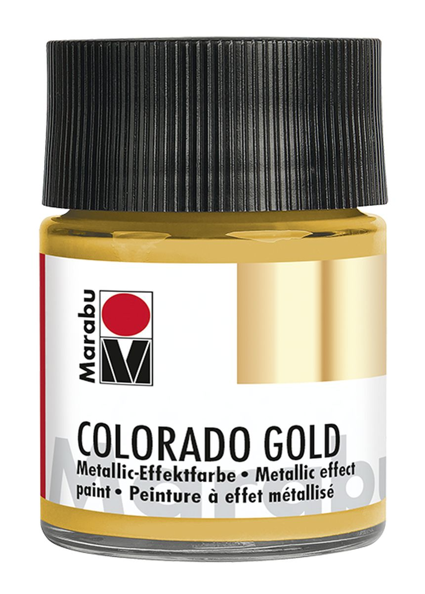 Marabu Colorado Gold 50 ml Metallicfarben