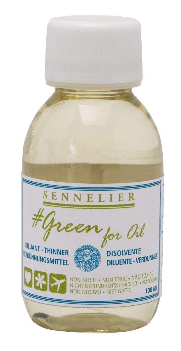 Sennelier Green for Oil Verdünner 100 ml