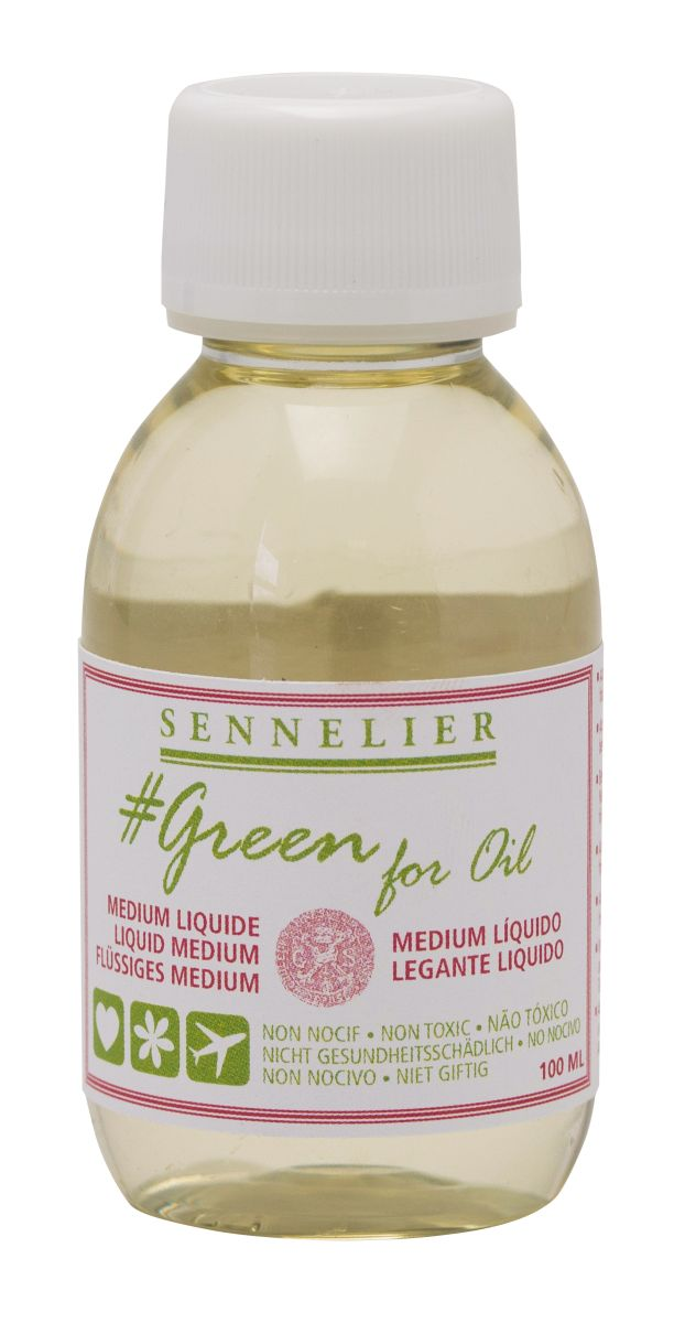 Sennelier Green for Oil Trocknungsbeschleuniger 100 ml