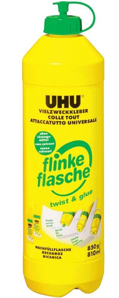Uhu Flinke Flasche 850 G Alleskleber Losemittelfrei