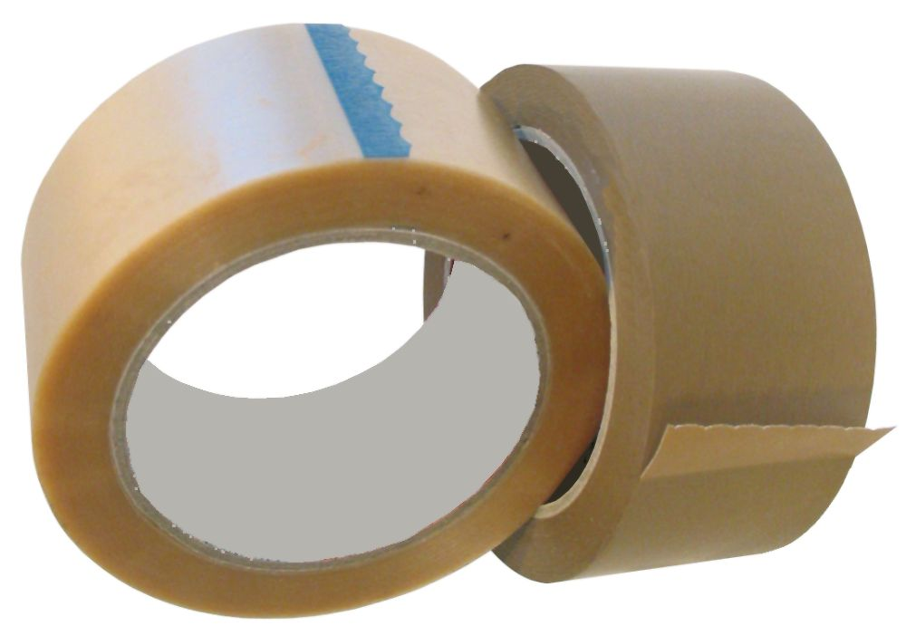 Packband 50mm x 66m braun od. transparent