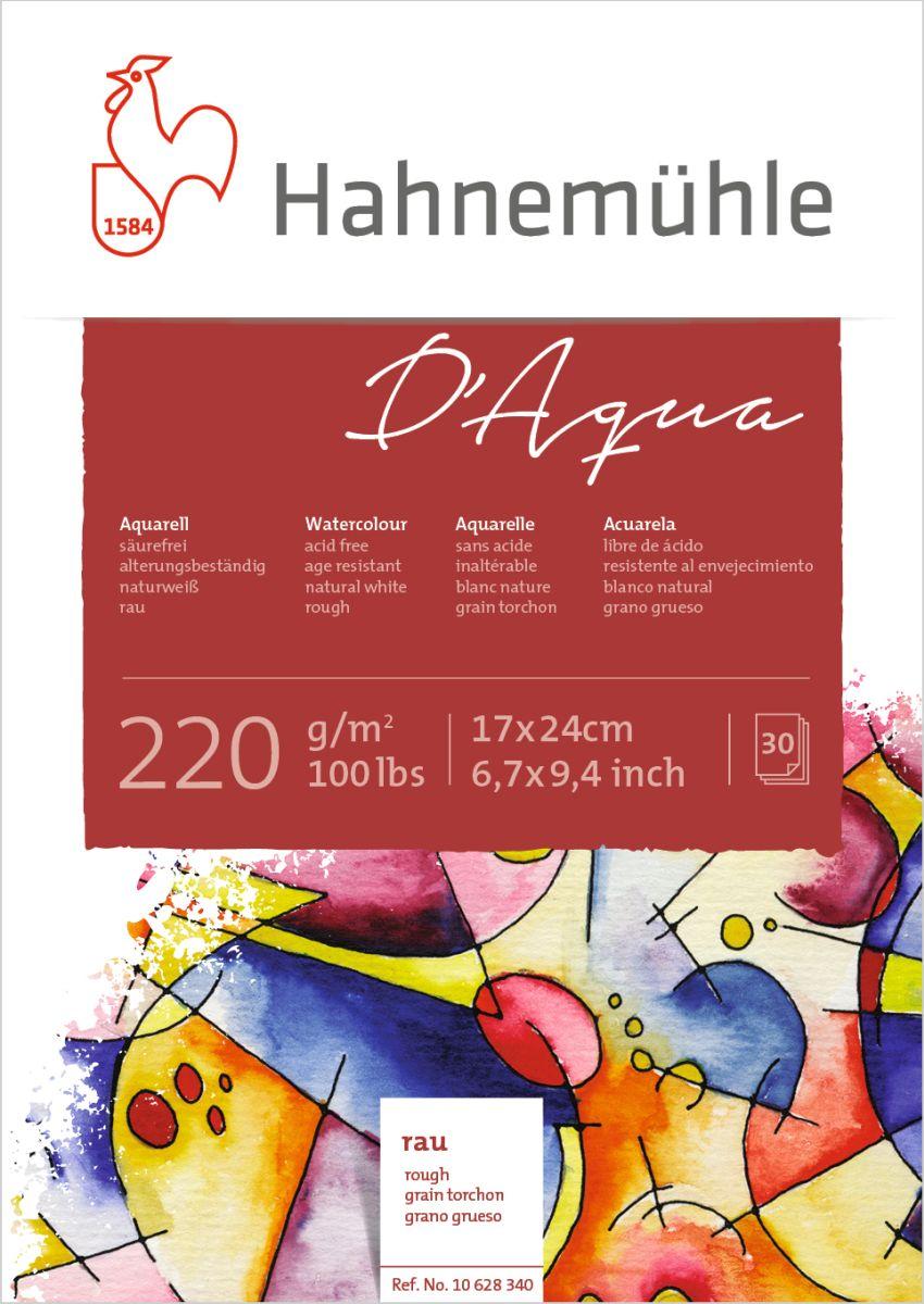 15 feuilles 36x48cm-Papier aquarelle Hahnemühle AQUARELLE Bloc Anniversary 425g//m²