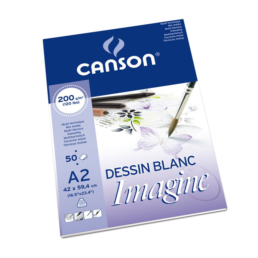 Canson Imagine Feinkorn 200 g/m² 50 Blatt