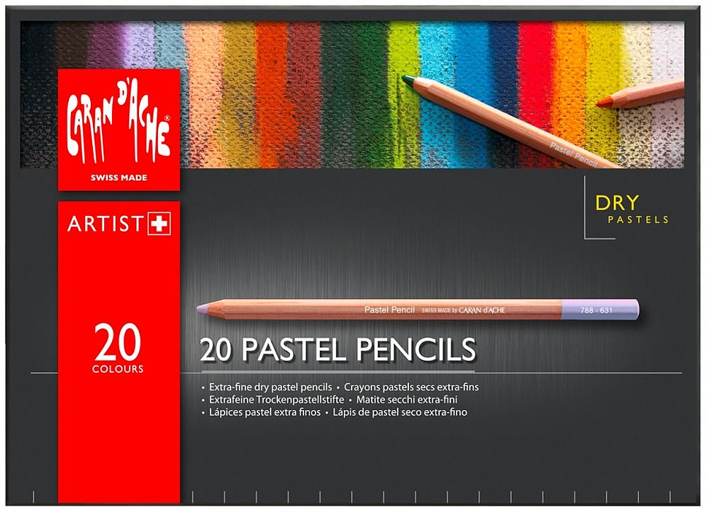 Caran d'Ache Pastellstift 20-er Set