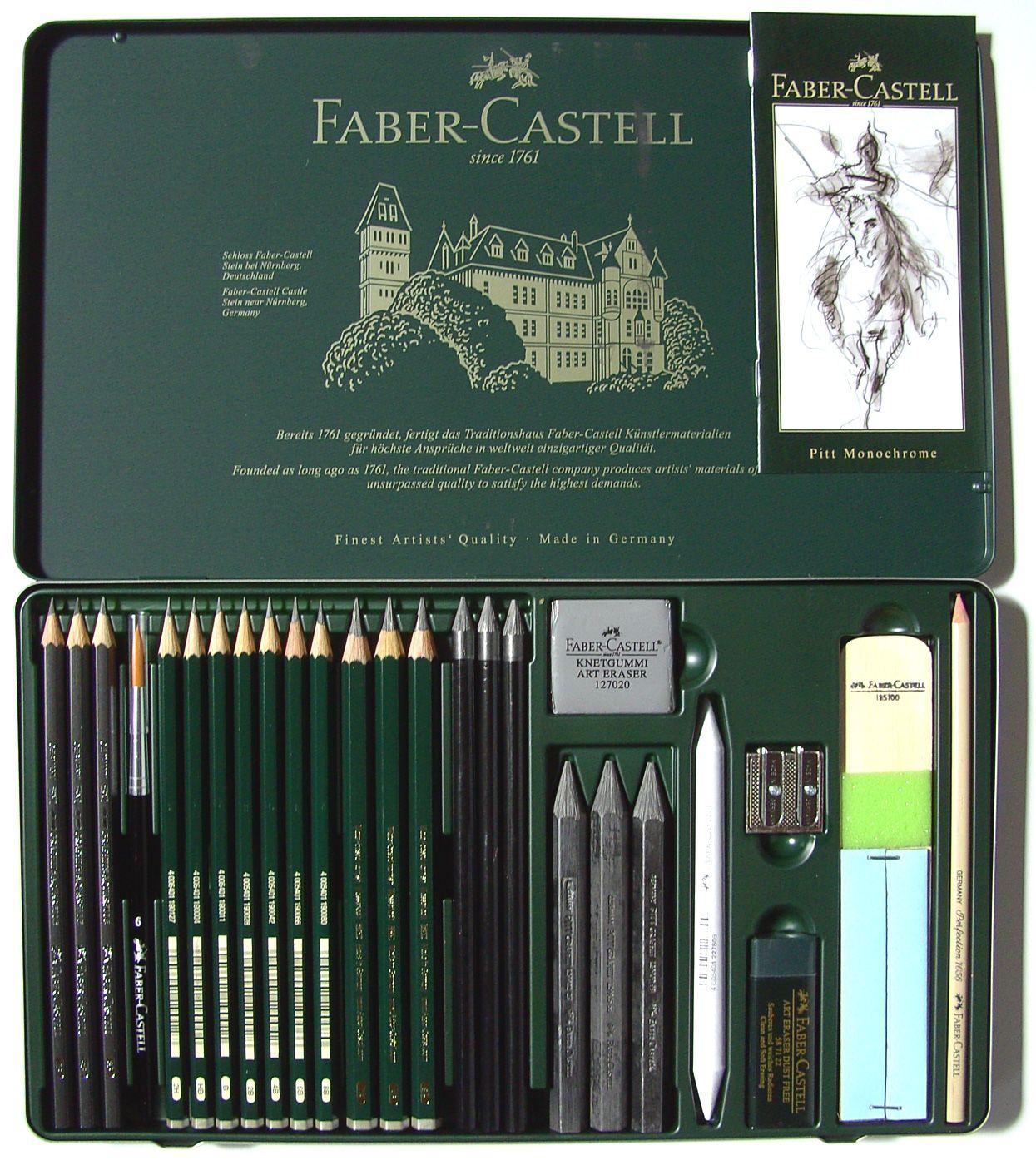 faber castell graphit set 26 teilig. Black Bedroom Furniture Sets. Home Design Ideas