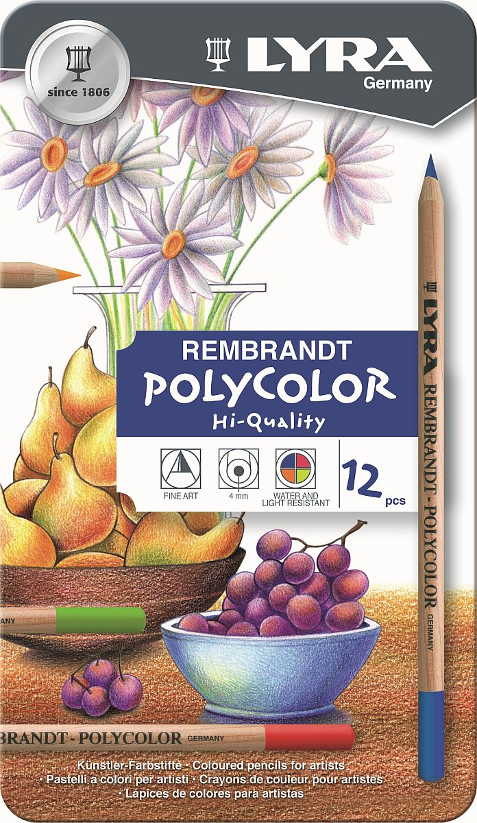Lyra Rembrandt Polycolor Stift 12-er Set