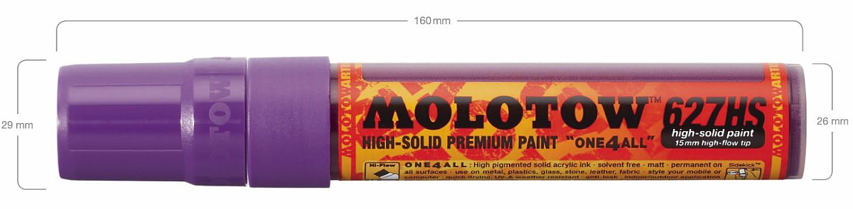 Molotow One4All 627HS 15 mm Spitze