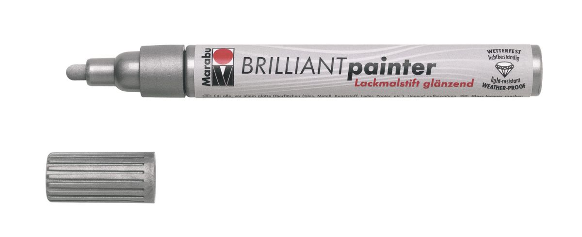 Marabu Brilliant Lackmalstift 2-4 mm