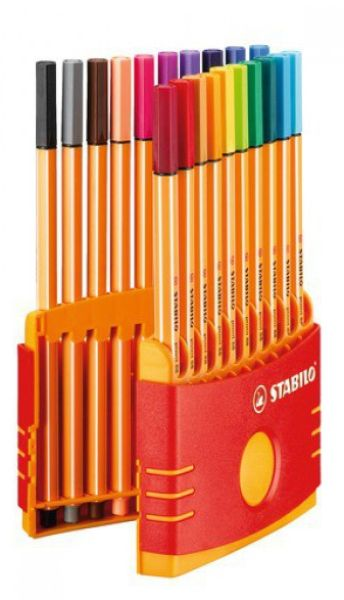 Schwan Stabilo Point 88 Fineliner ColorParade