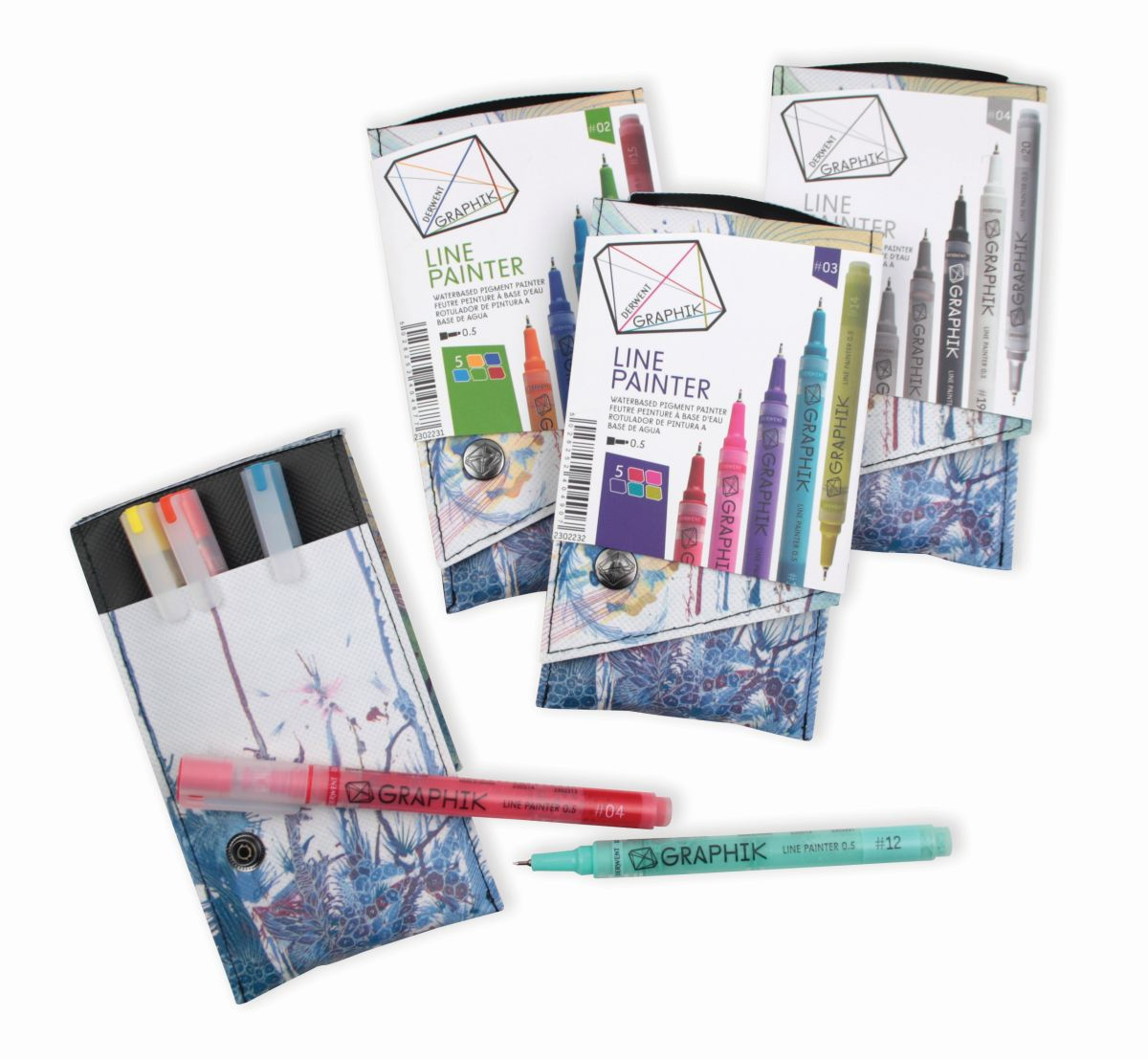 Derwent Graphik Line Paint 0.5 5-er Sets