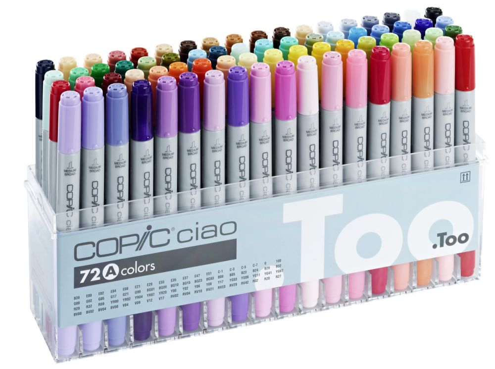 Copic Ciao-Set Acryldisplay 72 Marker