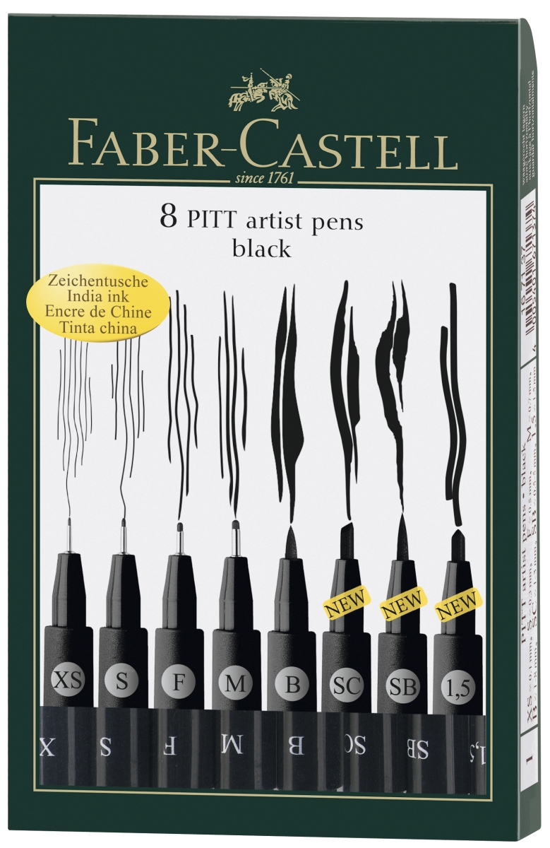 Pitt Artist Pen Tuschestift 1,5